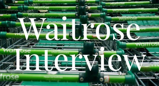 waitrose interview