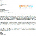 Interview Thank You Letter Addressing Concerns Example