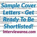 Sample Cover Letters - Get Ready To Be Shortlisted!